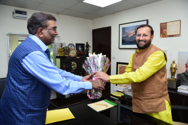 NCCF greets the Hon'ble Minister of Environment